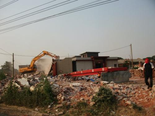 安徽拆迁系列之:镇违法拆除,法院确认违法